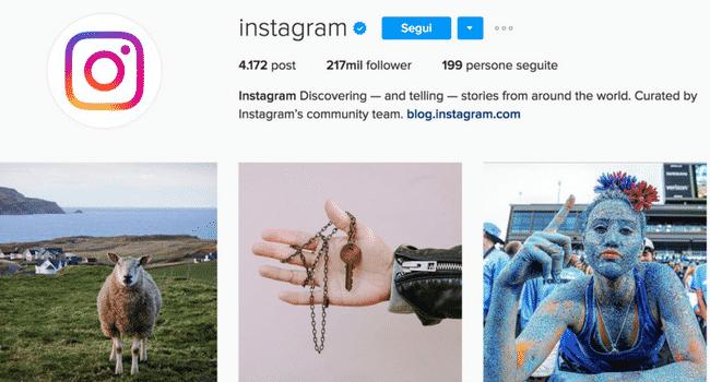 come avere il verificato su Instagram