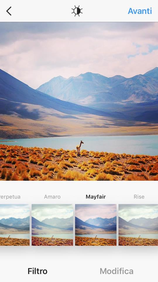 Instagram filtri