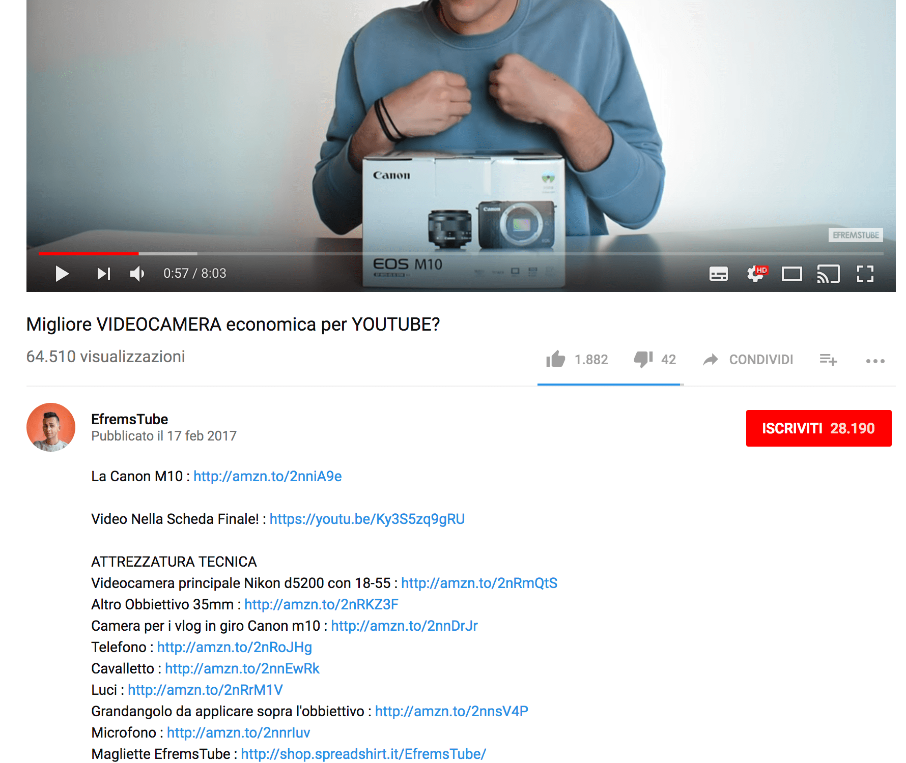 Quanto paga YouTube