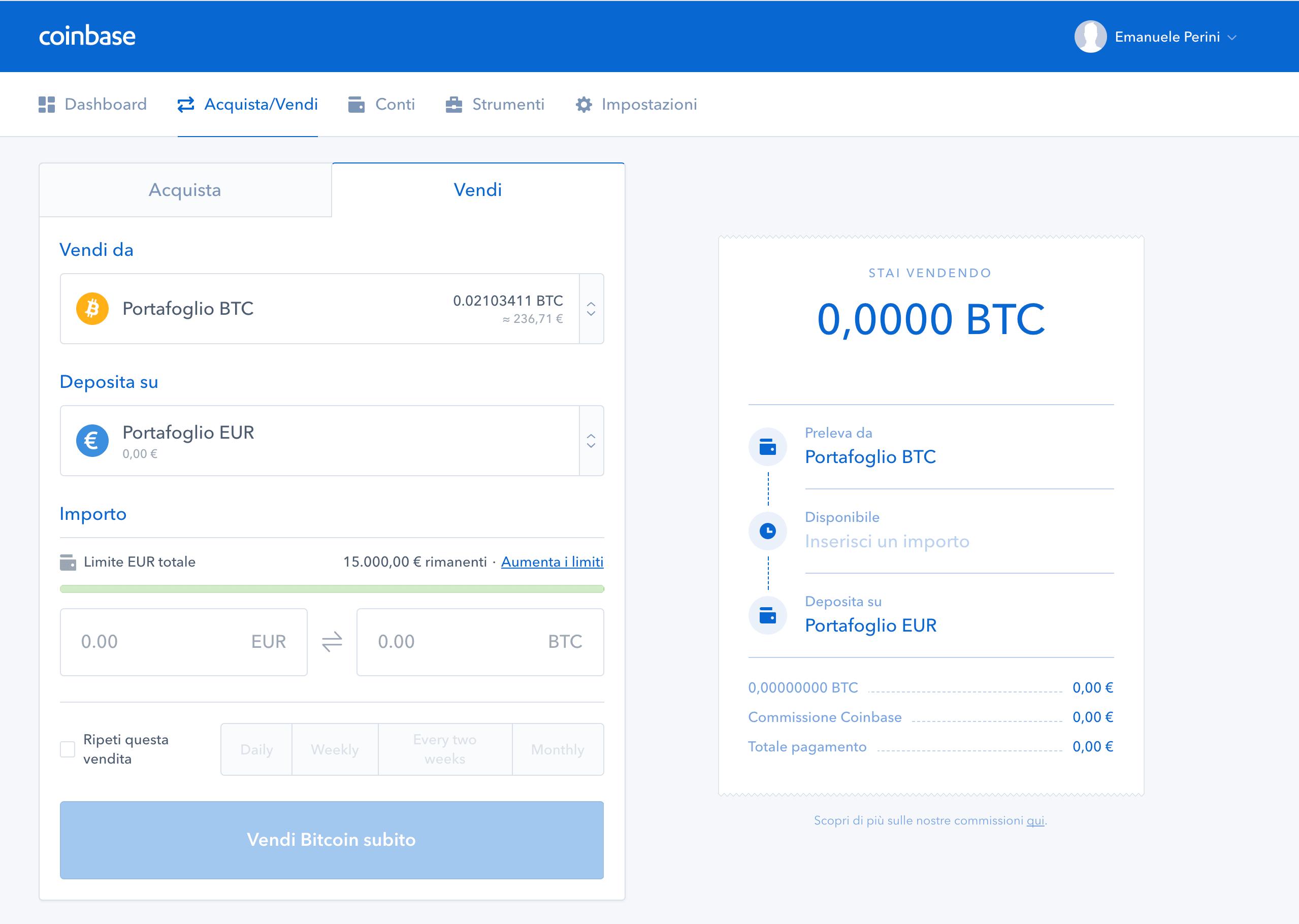Come funziona Coinbase