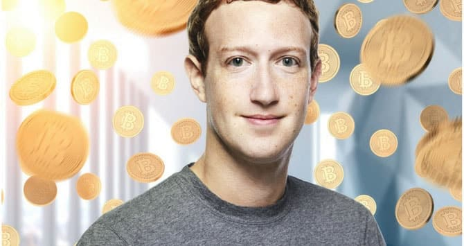 Mark Zuckerberg criptovalute