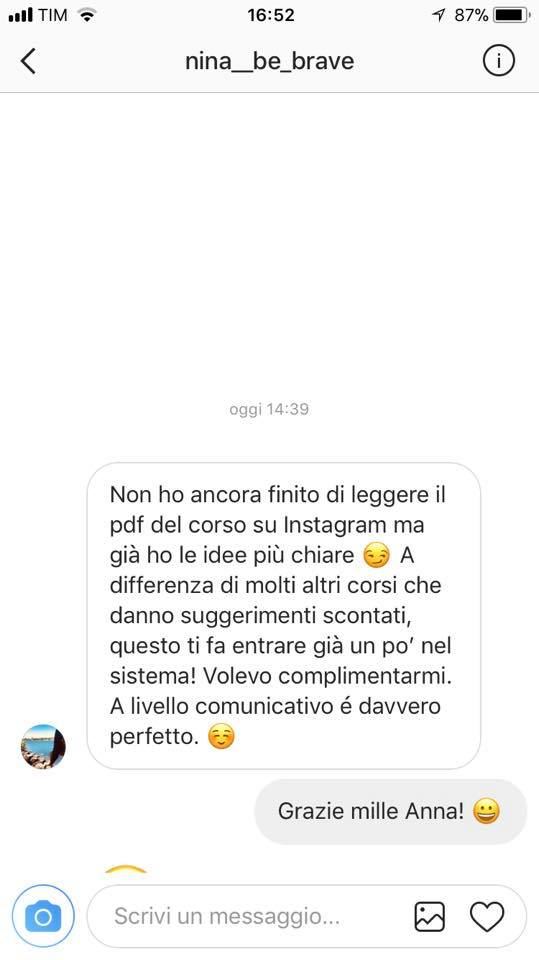instagram on work recensioni