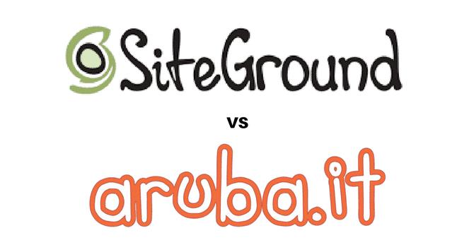 SiteGround Vs Aruba