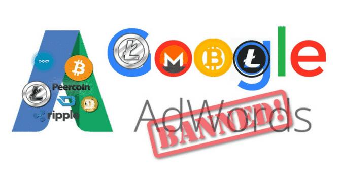 Google Annuncia Ban delle Crypto e ICO Adverts in Arrivo, Ethereum è in Difficoltà