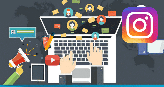 lavorare con i social