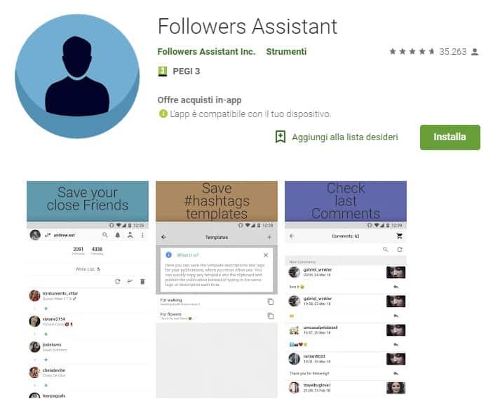 app per aumentare follower Instagram