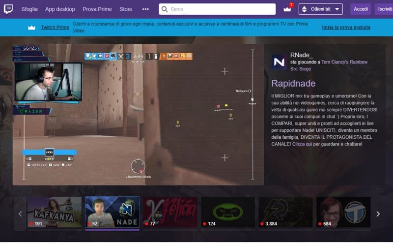 comprare follower twitch