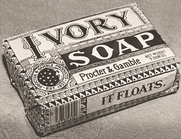 Ivory soap, Procter&Gable