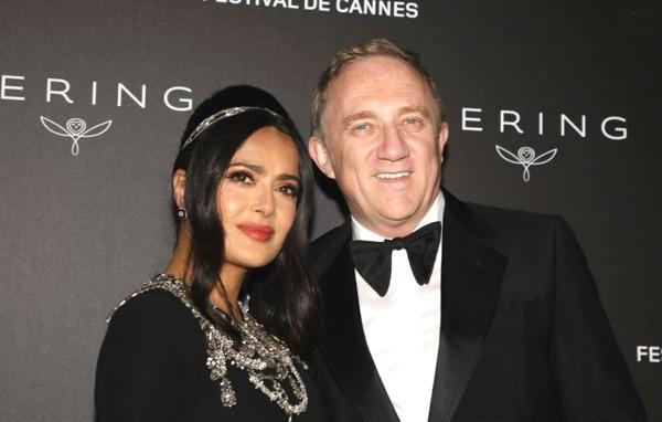 Kering - Salma Hayek e François-Henri Pinault