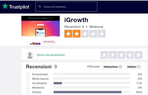 iGrowth: opinioni e recensioni