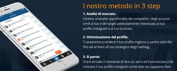 Piano crescita Instagram, Emanuele Perini