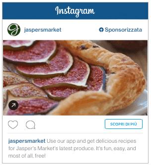 Promozioni Instagram