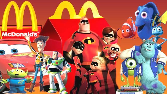 McDonald's - Disney