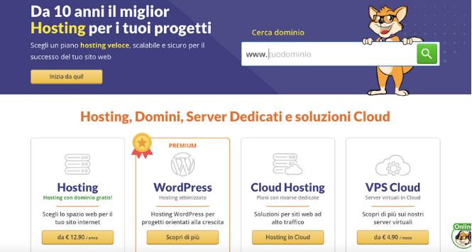 Acquistare un hosting: costi e procedure