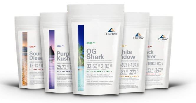 Tilray - Prodotti cannabis