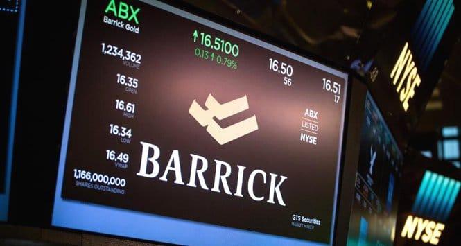 Azioni Barrick Gold
