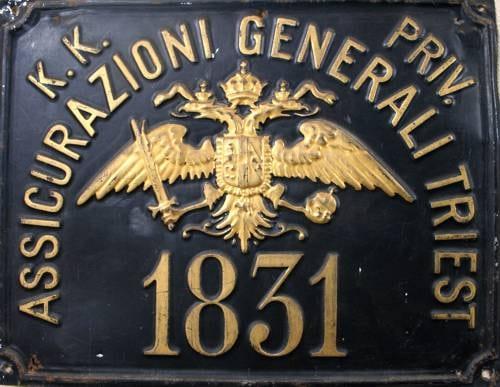 Imperial Regia Privilegiata Compagnia di Assicurazioni Generali Austro-Italiche