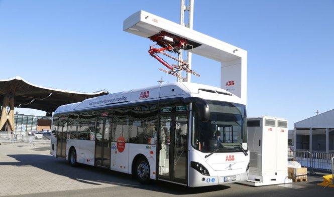 Ricarica autobus ABB