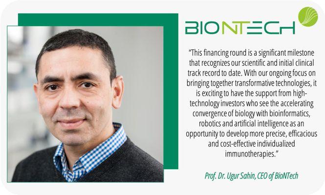 BioNTech - Uğur Şahin