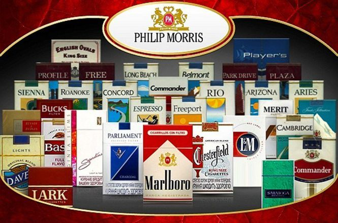I marchi Philip Morris