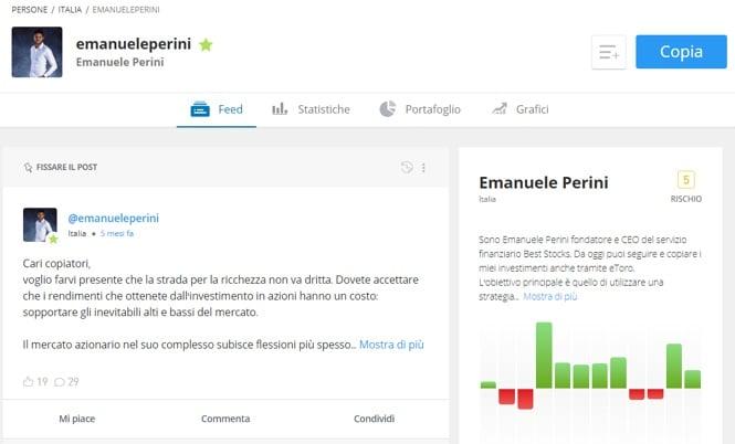 eToro - Emanuele Perini