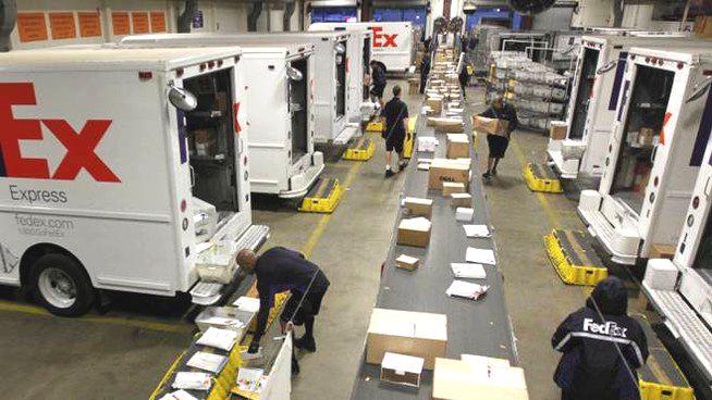 FedEx - centro smistamento
