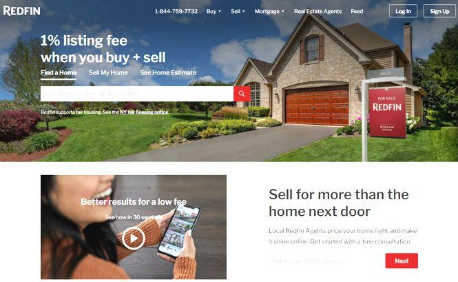 Redfin sito web