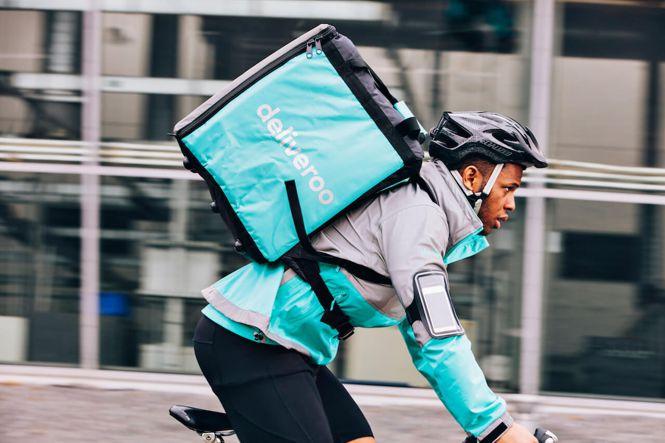 Deliveroo riders