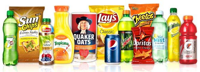 PepsiCo prodotti