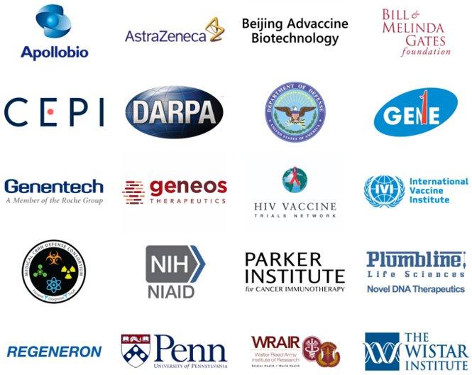 Partnership Inovio Pharmaceuticals