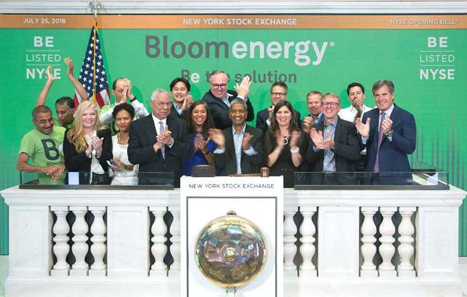 Azioni Bloom Energy